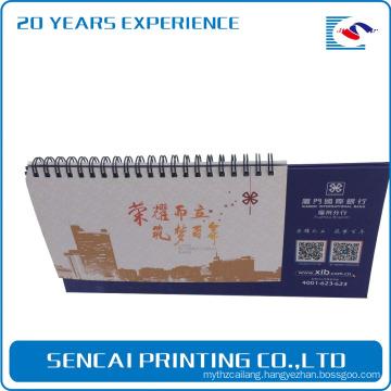 2017 Calendar fashionable calender&desk calendar with paper printing
