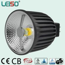 Luz do diodo emissor de luz do refletor 2800k 90ra 6W 12V MR16 de Scob da patente
