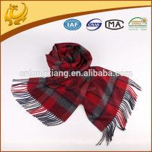 100% tecido de moda cachecol cachecol para homem