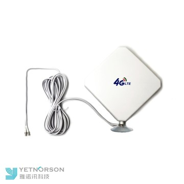 Yetnorson 2 antennes extérieures omni 4g lte 35gbi MIMO 698 ~ 2690Mhz 4g