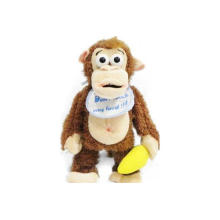 Stuffed Cartoon Animal Plush Monkey Toy