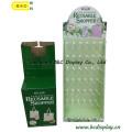 Диски для визитных карточек для покупок, Картонные крючки Подставка для дисплея, подарочная коробка, ящик для бумаги (B & C-B001)