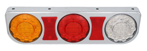Rear multifunction tail lights chrome