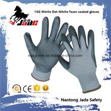 15 g Nitrile DOT avec gant de travail en mousse nitrile
