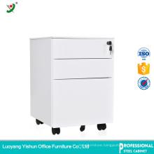 Steel Mobile 3 Drawer Pedestal Cabinet