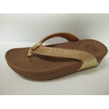 2016 zapatos del deslizador del verano de las señoras, zapatos del deslizador de la manera