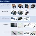 12-Core-Single-Mode-Glasfaserkabel und leichte und schnelle TYPE-71C + für den industriellen Einsatz, SUMITOMO Fiber Cleaver auch erhältlich