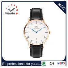 Low MOQ Damenuhr Edelstahl Uhr Quarzuhr Armbanduhr (DC-1072)