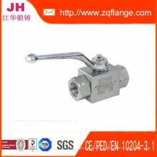 Ball Valve and Flanges