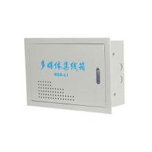 Fábrica de China de la caja de distribución de fibra óptica del equipo de distribución de las multimedias directamente suministrada