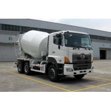 Camión mezclador de concreto Hino 6X4 en buena calidad con tecnología japonesa