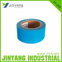 safety hi vis reflective blue polyester fabric