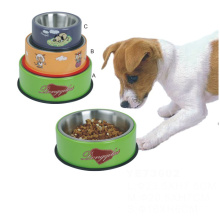 Stainless Custom Logo Personalized Dog Food Bowl