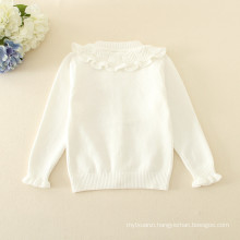 Cardigans multi-colour color crew neck long sleeves latest sweater designs for girls with flowers pattern