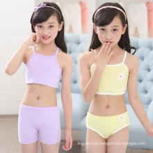 Love Girl Niños Bra algodón suave ropa interior para niños