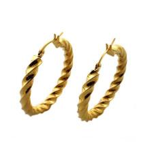 Fashion gold earrings for women,gold earrings round studs