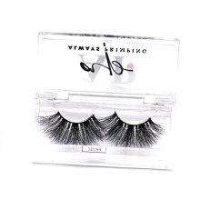 B142 Hitomi eyelash vendor customized boxes false eyelash packaging luxury Acrylic Custom cosmetic Eyelash Packaging