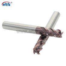 Inch Sizes Tungsten Carbide End Mill for Hard Metal
