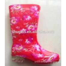 Botas de lluvia de mujeres de la venta Botas de tobillo impermeables para mujer lluvia B-820