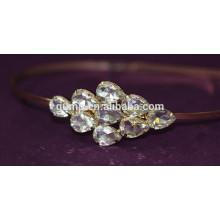 Corea Niñas Moda Rhinestone Niños Pelo Bnd Cristal Diadema