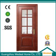 Изогнутая деревянная Облицовка твердой древесины двери для домов проекты