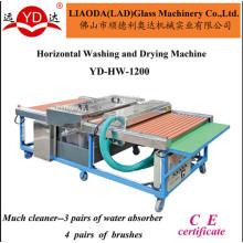 Type horizontal pour la machine de lavage et de séchage propre au verre