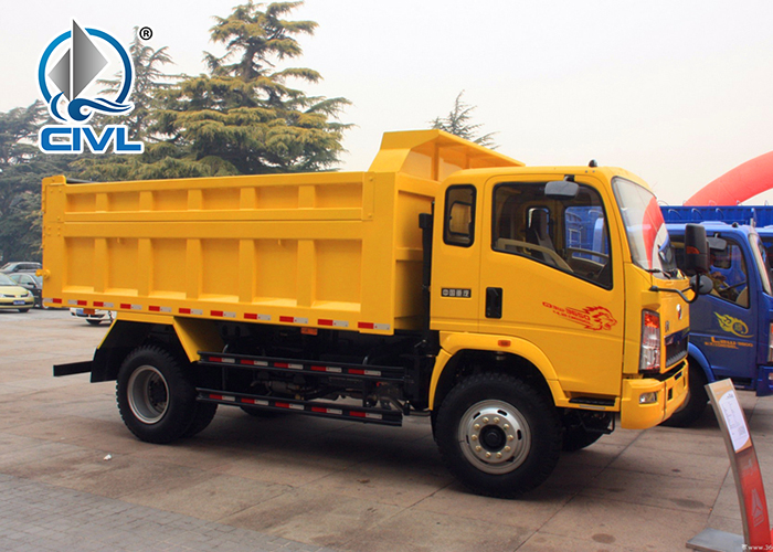 Sinotruk 10 Ton Light Dump Truck 11
