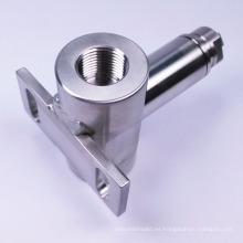 Pieza de mecanizado CNC para componentes de válvula