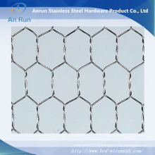 Grillage métallique hexagonal à mailles métalliques à lapin