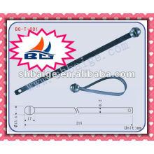 selo de cinta de metal BG-T-001, vedação de esfera de metal para uso de segurança, vedação