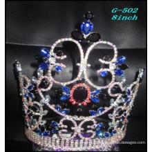 Pageant Casamento Jóias de prata Tiara kids princess black seamless hair crown