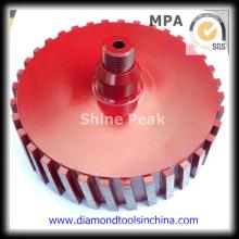 Diamond Grinding Drum Wheel for Polishing Stone Side
