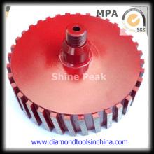 Roda de tambor de moagem de diamante para polimento lado de pedra