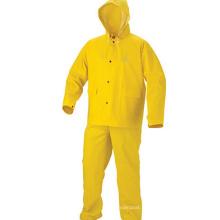 Vente en gros New Style pour adultes PVC Rainsuit / Rain Suit pour le vélo