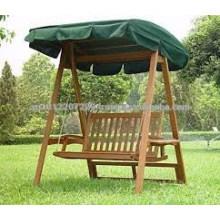 Твердой древесины на открытом воздухе / сад комплекта мебели - в гамаке