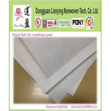 100% Polyester Starrer Nadelstapel Matratzenauflage Filz