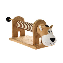 High Quality Combined Sturdy Scratcher Cat Tree Wooden With Animal Shapes