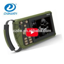 DW-VET6 handheld ultrasonido escáner veterinario palma ultrasonido