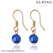 28205 xuping 18k gold plated jewelry fancy wholesale earring