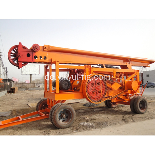 Tragbares YKCZ Percussion Water Well Drilling Rig