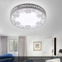 La lámpara de techo LED de madera redonda más popular / la luz de techo LED