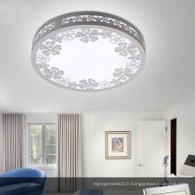 Plafonnier rond en bois de LED le plus populaire / plafonnier de LED