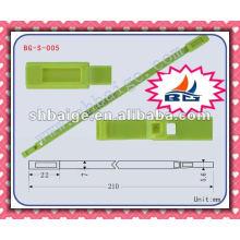 Selo indicativo de segurança BG-S-005 para uso em segurança, vedação