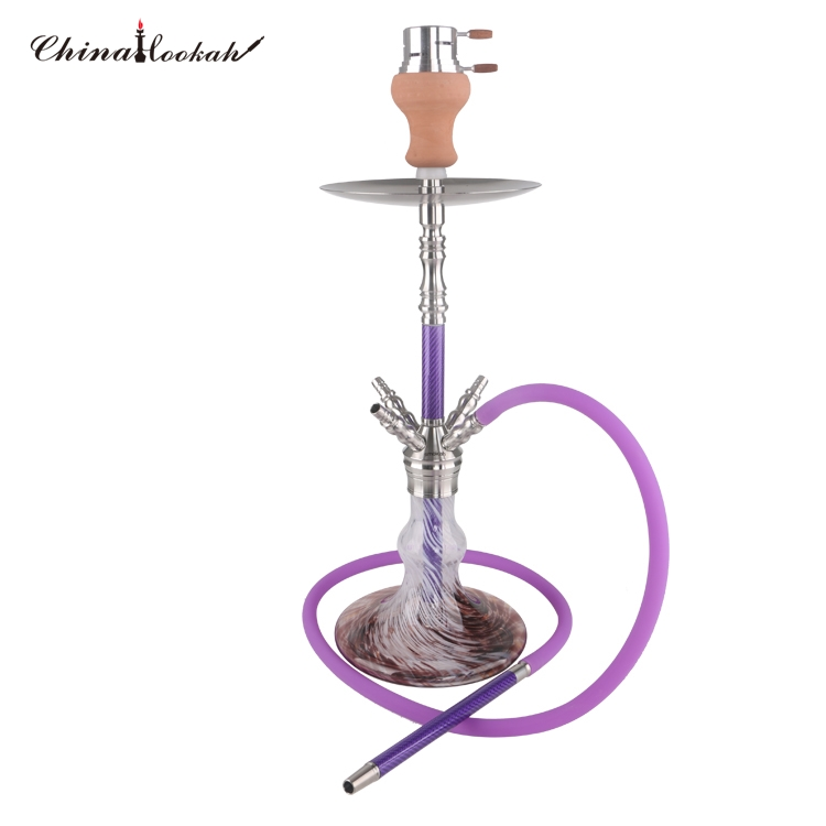 2019 New Design Carbon Stainless Steel Shisha