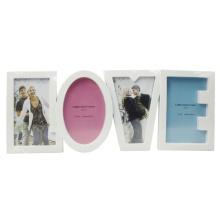 """Vier 4 """"X 6"""" Collection-Rahmen mit Brief Liebe"""