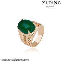 14722 xuping bijoux 18k plaqué or funky nouvelles conceptions doigt bague en or pour les femmes