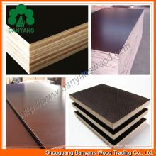 Fabricación de madera contrachapada con película / Contrachapado de construcción