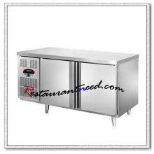 R160 1.2m 2 Türen Fancooling / statische Kühlung Kühlschrank / Gefrierschrank Undercounter