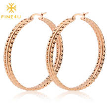 Latest designs stainless steel high polished gold plated huggie hoop earrings