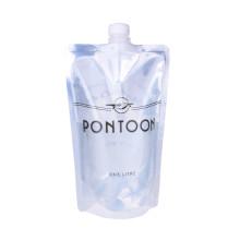 Bolsa de plástico Bolsa de boca de embalaje para detergente para ropa